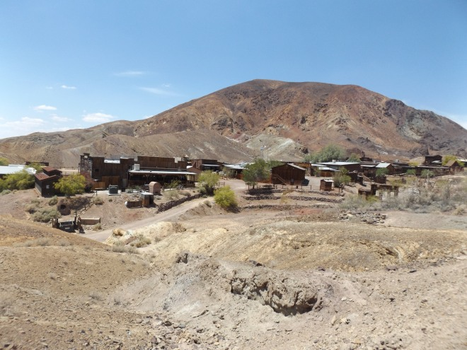 Calico, CA, a former silver mine town, now a ghost town.