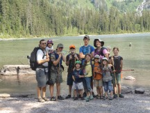 Our family at Avalanche Lake
