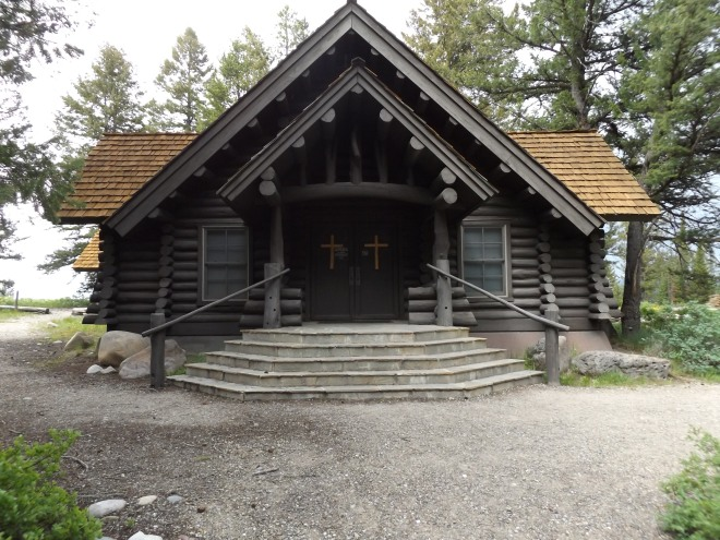 The Chapel of the Sacred Heart in the Grand Tetons.