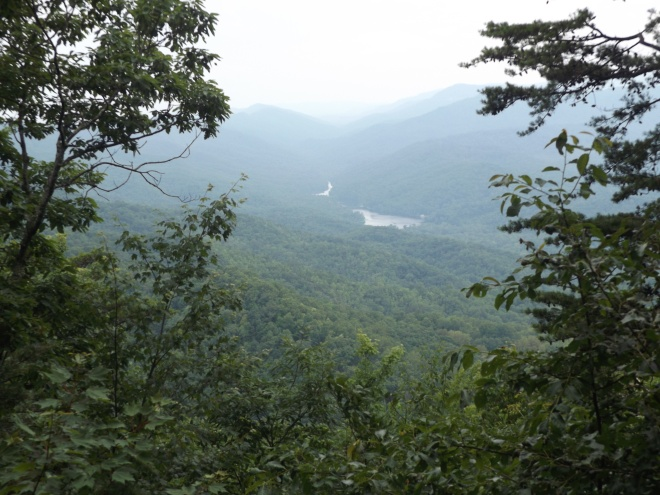 View of Fern Lake from Cumberland Gap National Park